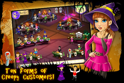 Screenshot Amelie's Cafe: Halloween